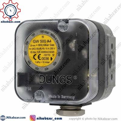 پرشرسوئیچ دانگز DUNGS مدل GW-500-A4