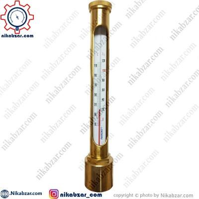 ترمومتر الکلی پکنز PAKKENS اتصال افقی 20- تا 120+ درجه