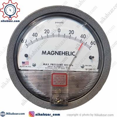 گیج اختلاف فشار مگنهلیک DWYER دوایر 60- تا 60+ پاسکال