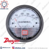 گیج اختلاف فشار مگنهلیک DWYER دوایر 500 پاسکال